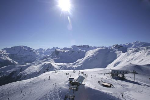 Frankrijk-Flaine-skigebied